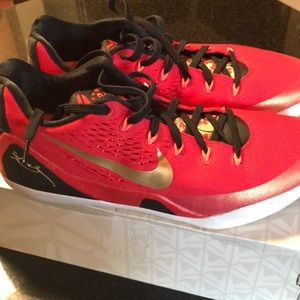 Nike Kobe IX CH Pack Red/Gold Low